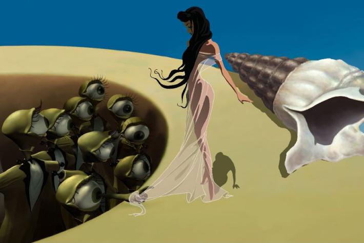 'Destino' by Salvador Dali and Walt Disney