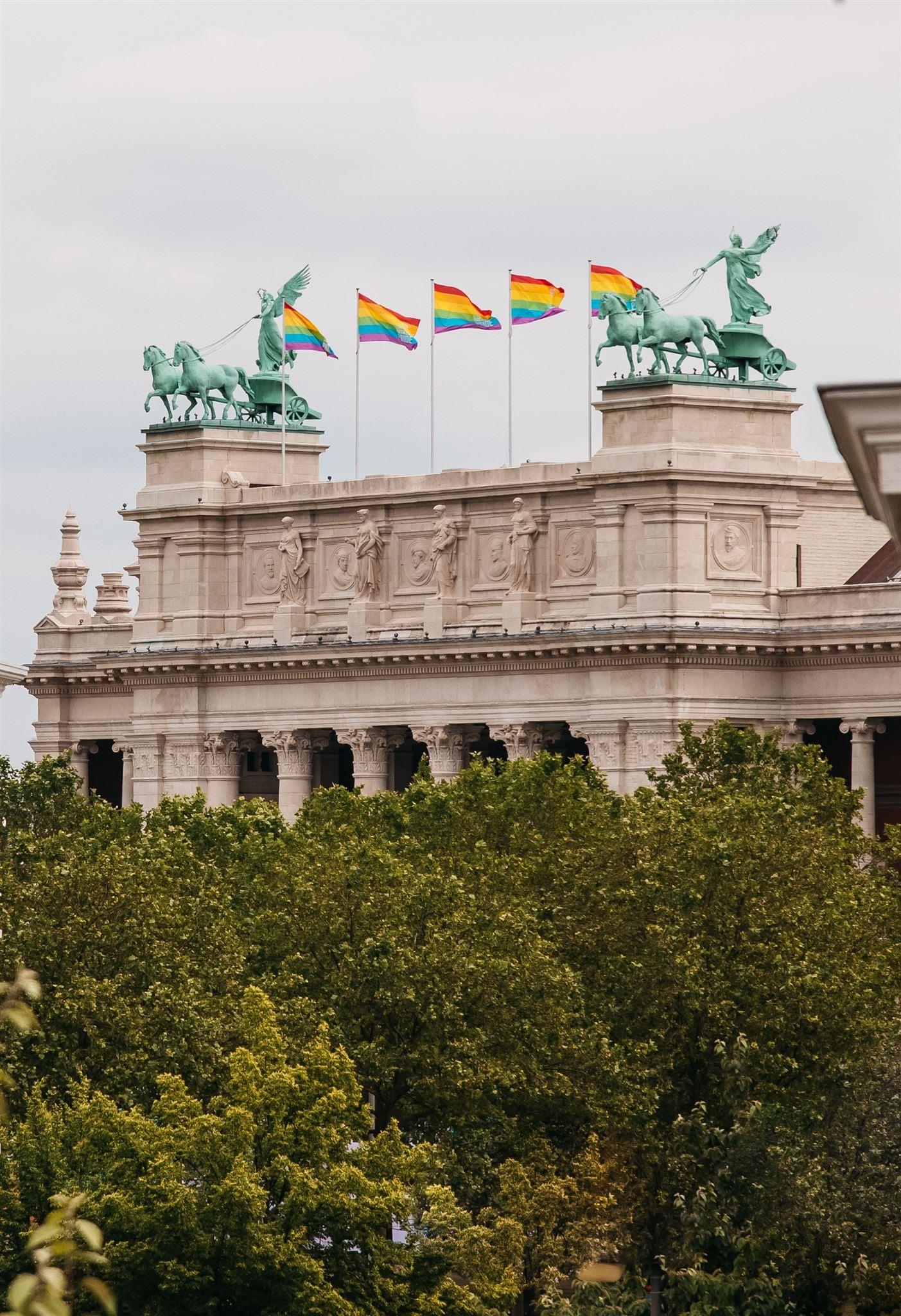 Museum In Antwerp Proudly Flies Rainbow Flags